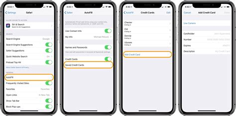 How to manage saved credit card info in ios 11 tom s guide. How to add credit cards to Safari's AutoFill on iPhone - 9to5Mac