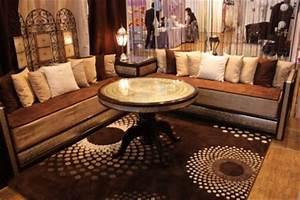 canape marocain moderne noir univers canape With tapis oriental avec canapé club cuir occasion