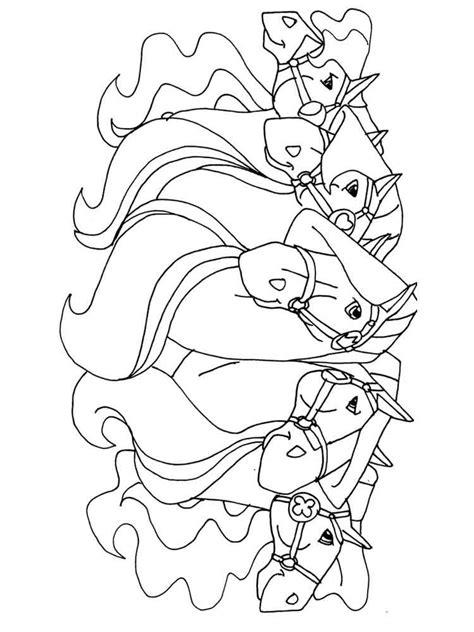 horseland coloring pages horseland coloring pages free printable horseland