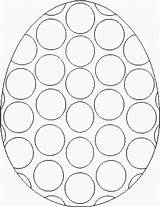 Easter Coloring Templates Egg Printable Pages Template Bingo Printables Eggs Coloringbookfun Sheets Crafts Pasen Dot Paasei Colouring Dabber Designs Met sketch template