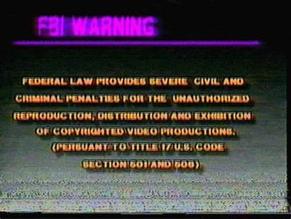 Fbi Warning Vhs Glitch Gifs Capacity Max