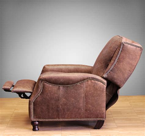 barcalounger ashton ii recliner chair leather recliner