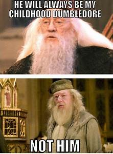 Richard Harris vs. Michael Gambon | Harry Potter ...