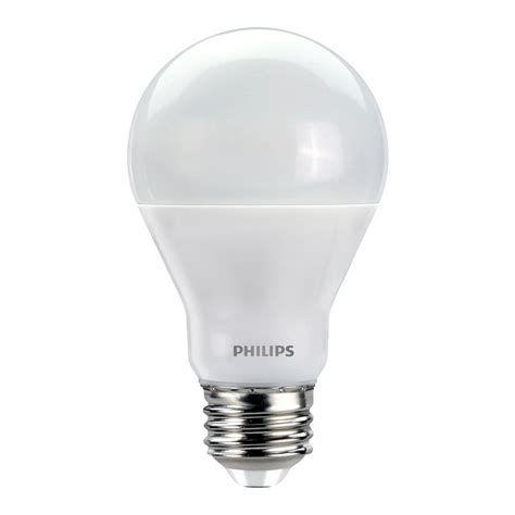 philips a19 dimmable led l philips 60w equivalent soft white with warm glow a19