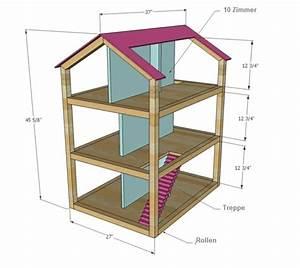 Barbie Haus Selber Bauen : puppenhaus bauplan holz selber machen kinderzimmer ~ Lizthompson.info Haus und Dekorationen