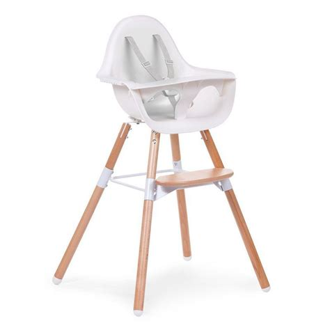 chaise haute en bois evolutive chaise haute bébé design naturel childwood range ta