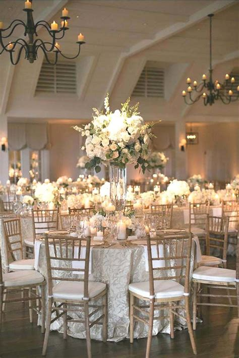 Wedding Reception Decorations by Best 25 White Wedding Decorations Ideas On