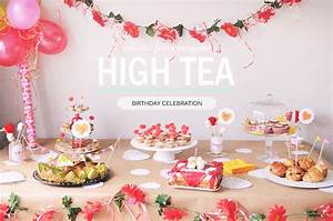 High tea party table | mintstudio creations | Peppermint ...
