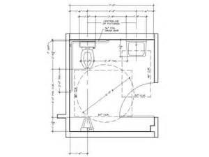 ADA Bathroom Dimensions Minimum