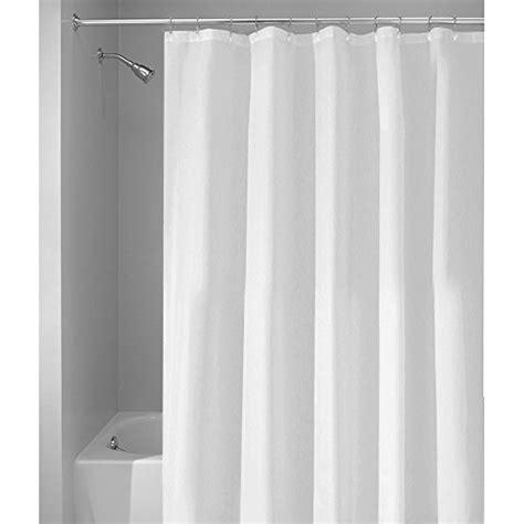 interdesign waterproof x wide shower curtain and liner