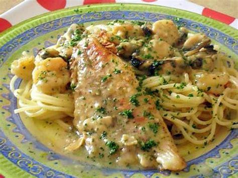 cuisiner poisson blanc recette de filets de poisson 224 la normande