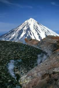 Volcanoes of Kamchatka Russia