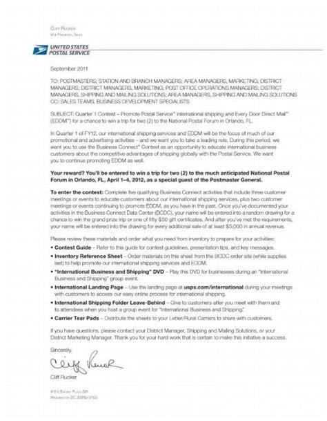 application letter sle application cover letter usps