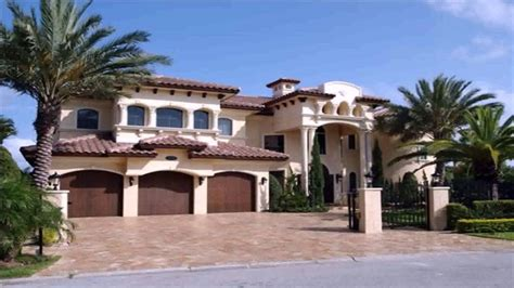 spanish style house plans designs youtube
