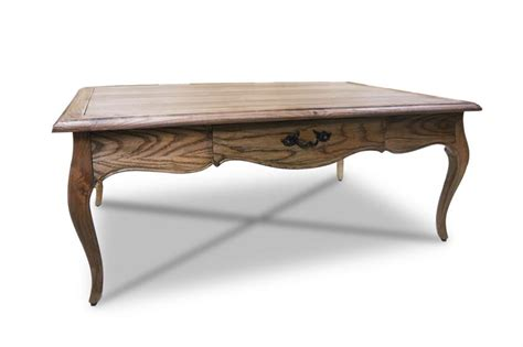 French Provincial Furniture Coffee Table In Natural Oak
