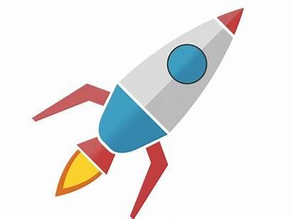 Rocket Vector Clipart Icon Icons Transparent Diamond