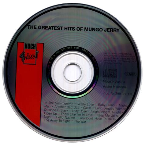 As early as 1989, de la soul was very vocally opposed to cliches in hip hop. Mungo Jerry - The Greatest Hits Of Mungo Jerry (1989) / AvaxHome