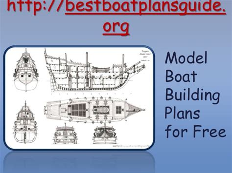 boat building plans for free