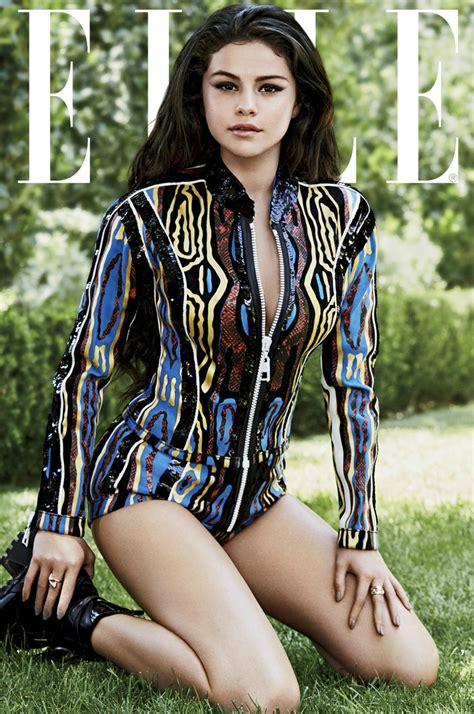 Selena Gomez Stuns In 'elle' See The Pics Idolator