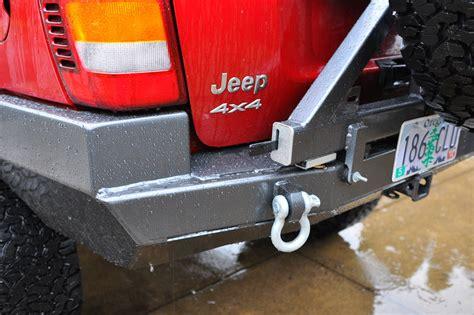 rock hard  patriot series rear bumper  tire carrier