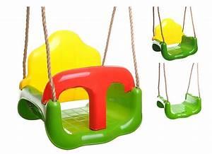 Dětská houpačka na zahradu