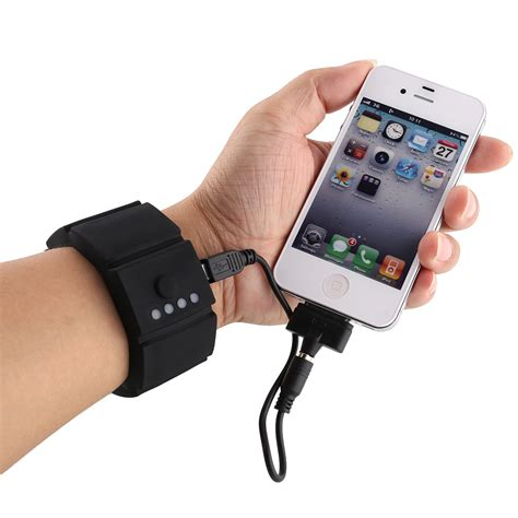 power phone power bank wrist gadget phone battery charger icell