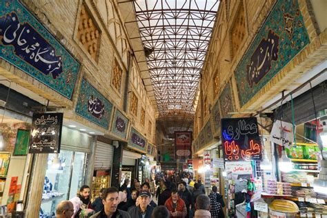 Grand Bazaar Tehran-Iran