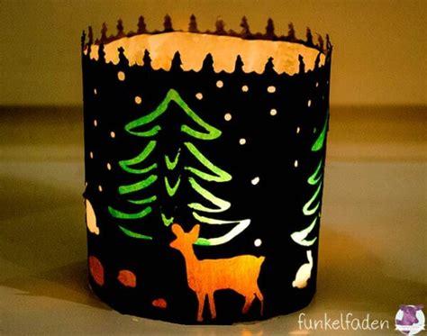freebie weihnachtliches windlicht handmade kultur