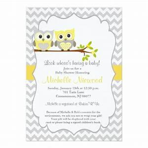 owl baby shower invitation zazzle With owl themed baby shower invitation template