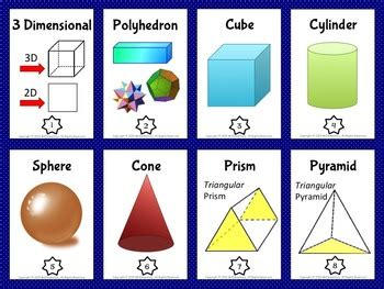 shapes vocabulary trading card games  activities
