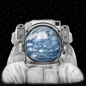 Astronaut Art Print (page 3) - Pics about space