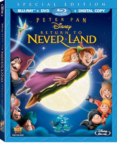 walt disneys peter pan return  neverland special