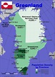 Greenland Country data, links and map by administrative ...