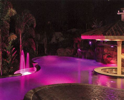 traditional pool lighting colored pool lighting custom