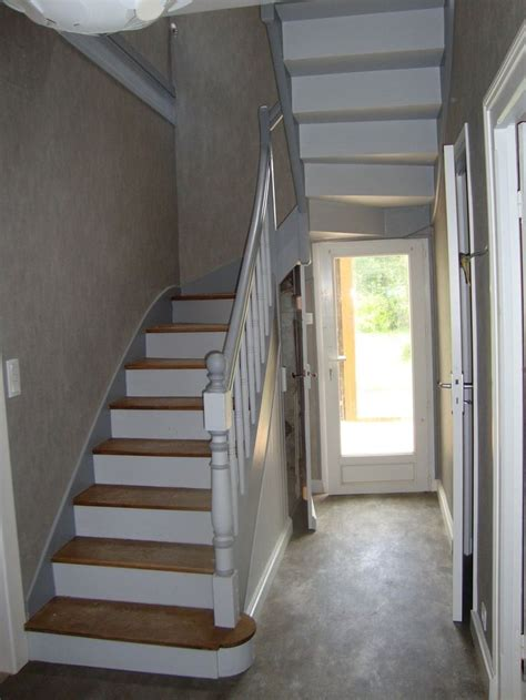 25 best ideas about peinture escalier bois on