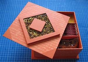 Boite Cartonnage Tuto Gratuit : pour celle qui aime le orange taches et couleurs ~ Louise-bijoux.com Idées de Décoration