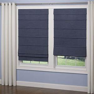 elegant home fashions navy room darkening cordless fabric With cordless cloth blinds
