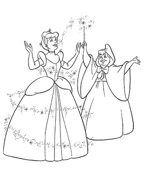 princess cinderella coloring pages ideas