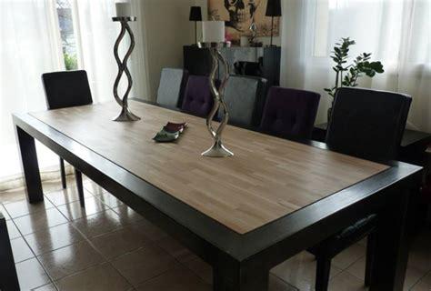 meuble cuisine acier création de meubles sur mesure en bois massif et acier