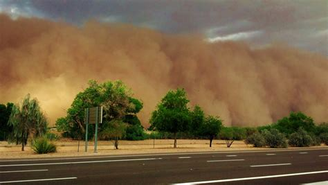 New Mexico The Site Of Fatal Dust Storm · Guardian Liberty