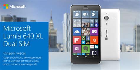 microsoft lumia 640 xl dual sim niebieski smartfon
