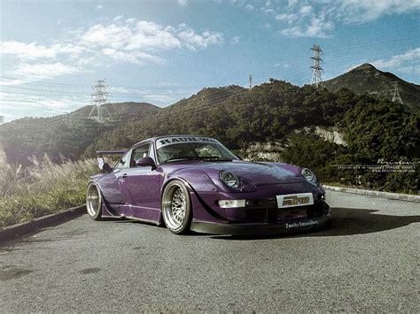porsche rwb purple featured fitment rwb 993 porsche 911 with brixton forged