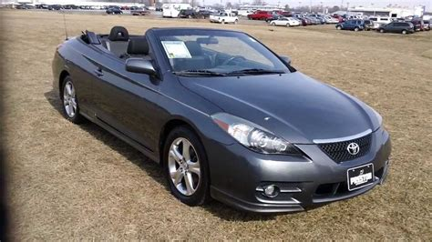 Toyota Solara Convertible For Sale by 2008 Toyota Solara Convertible Used Cars For Sale Maryland