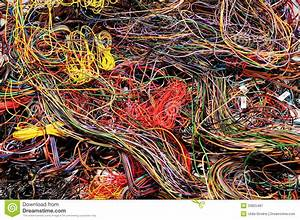 Multicolored, Wires, Royalty, Free, Stock, Photography