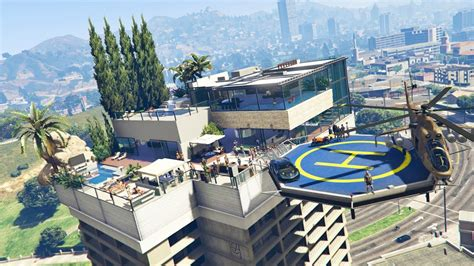 Billionaires Penthouses Mod Tour!! Gta 5