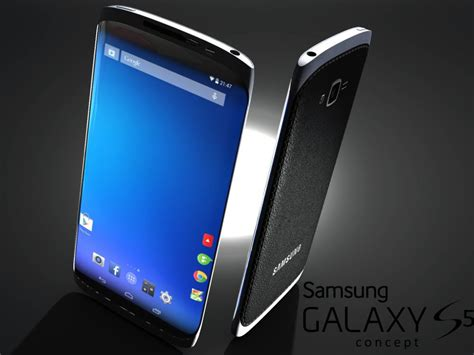 galaxy 5 phone samsung galaxy s5 render concept phones
