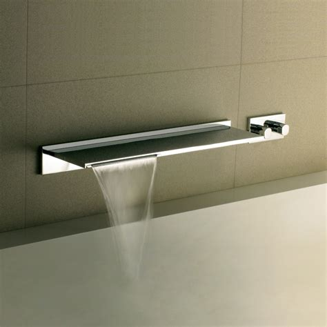 waterblade bath filler waterfall spout livinghouse