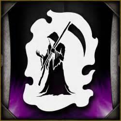 Grim Reaper 8 AirSick Airbrush Stencil Template