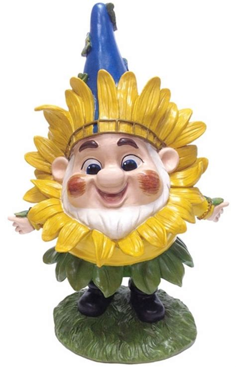 sunflower benny gnome    garden fun