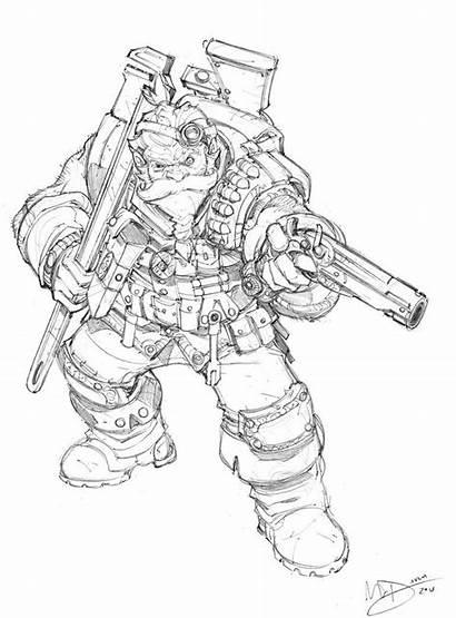 Dwarf Max Dunbar Rpg Tech Deviantart Fantasy